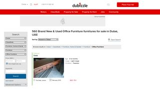 Dubizzle Office Furniture