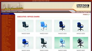 Nasco Office Chairs