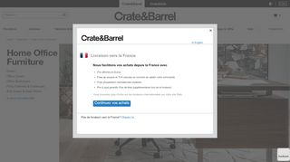 Crate & Barrel Home Office