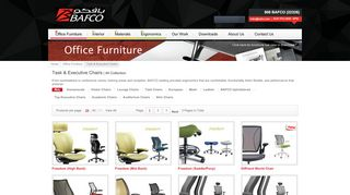 Bafco Office Chairs