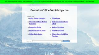 Executive Office Furnishing